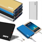 Ultrathin 50000mAh Power Bank LCD Display 2 USB Battery Charger For Mobile Phone