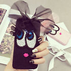 New Cute Bling 3D Lace Bow Eye Back Case Cover For iPhone 6 6S Plus SE