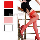 Women Lace Stockings Large Fishnet Long High Skinny Hosiery Socks EW