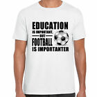 grabmybits - Education is Important, Football is Importanter T Shirt, Sport