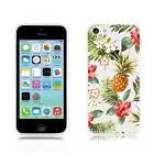 Summer Sketch Design Silicone Gel Protective Back Case Cover - iPhone 5C *SALE*