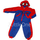 2 pcs Hero Spiderman Boy Fancy Halloween Party Costume Outfit Size 2T-7 FC023