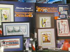 Cross Stitch Sports Booklet Your Choice-Skating/Bowling/Karate/Ball/Car/Golf
