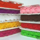 GIANT RIC RAC trimming 32mm wide red pink white green yellow sold per metre
