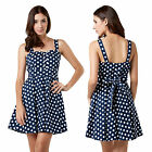 Stella Morgan Designer Womens Retro Skater Dress Ladies Polka Dot Short Sundress