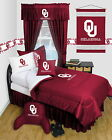 Oklahoma Sooners Comforter & Pillowcase Set Twin Full Queen LR LIMITED SUPPLY