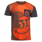 KLEW MLB Men's Baltimore Orioles Big Graphics Pocket Logo Tee T-shirt, Orange