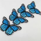 Embroidered Iron on Patch Sewing Clothes Pants Butterfly Crafts Accessories