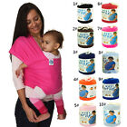 New MOBY wrap Cotton Sling Baby Carrier Newborn 8 Colors