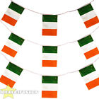 IRELAND EURO FOOTBALL 2016 COUNTRY BUNTING 33FT LARGE FLAG DECORATION 20 FLAGS