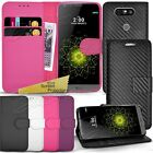 For New LG G5 - Wallet Leather Case Flip Cover Book + Screen Protector + Stylus