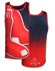 MLB Men's Boston Red Sox Big Logo Tank Top Shirt, Red
