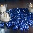 1200 Crystal Like MINI ICE CUBES Wedding Party CENTERPIECES Vases Filler SALE