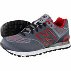NEW** ML574ALK New Balance Woven Pack Men's Shoes Casual Grey Red Black in box