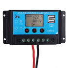 10A/20A LCD Display 12V/24V PWM Solar Panel Battery Charger Controller Dual USB