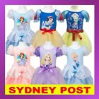 Disney Princess Cinderella Frozen Sofia Alice Snow White Rapunzel Girls Costume