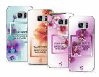 TULLUN DESIGNS PERSONALISED CUSTOM COLORFUL ORCHIDS GEL CASE FOR SAMSUNG PHONES