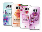 TULLUN DESIGNS PERSONALISED CUSTOM COLORFUL ORCHIDS CASE COVER FOR SAMSUNG PHONE