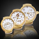 LADY GIRL TONE ALLOY QUARTZ WATCHES CREATIVE FINGER RING WATCH VINTAGE
