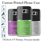 TULLUN DESIGNS PERSONALISED CUSTOM NAIL POLISH BOTTLE GEL CASE FOR SAMSUNG S