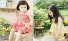 New  Girls Adorable summer Outfit Set Top Dresses+Shorts 2PCS  size 2.3.4.5.6