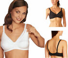 Naturana 5089 Nursing Drop Cup Feeding Soft Full Cup No Wires Full Coverage Bra