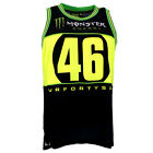 Valentino Rossi VR46 Moto GP Monster Energy Basket Tank Top Official 2016