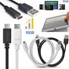 Superspeed 1M/3.3ft Type-C 3.1 Male to USB 2.0 Type A Data Cable for Nokia N1