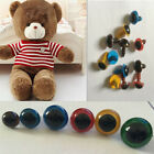 100pcs 8mm Plastic Safety Eyes For Teddy Bear Doll Animal Puppet Crafts EW