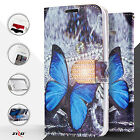 Butterfly Graphic Wallet ID Credit Card Cover Phone Case Samsung Galaxy S7 Edge