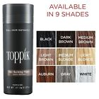 TOPPIK Hair Loss Building Fibers 9 Colors Your Choose 27.5g / 0.97oz