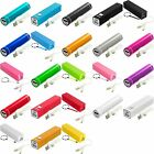 2600mAh USB Carriable External Battery Power Bank Pack Charger Cable for Phones