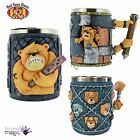 Nemesis Now Bad Taste Bears 13cm Tank 4Q Team Tankard Adult Rude Gift Funny Box
