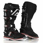 ACERBIS X MOVE 2.0 BOOTS BLACK HINGED MOTOCROSS MX ENDURO ATV QUAD CHEAP NEW