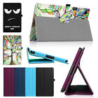 "For HP 10 G2 Tablet (2301) 10.1"" Tablet Vegan Leather Folio Stand Case Cover"