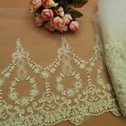 New Vintage Lace Trims Embroidered Tulle Trimmings Sewing Dress Skirt Handicraft