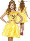 Ladies Belle Costume Adults Enchanting Beauty and the Beast Fancy Dress Outfit