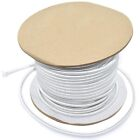 3mm x 150 Metres, ELASTIC BUNGEE ROPE SHOCK CORD TIE DOWN WHITE, ROOF RACKS