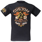 T-Shirt Custom Motorcycles Fastes Riders Biker Cafe Racer Ace BSA Norton Triumph