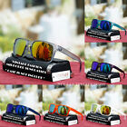 Vintage Fashion Mirror Shade Sunglasses New Square Cool Translucent Frame UV 400