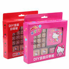 MADE IN TAIWAN SANRIO KITTY DIY GIFT SET-STAMP+COLORS INK PADS