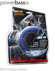 4 Gauge Premium HQ Amplifier Installation Wiring Kit Car Power Amp Wire & Cables
