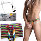 New Men's  Gay Underwears Thongs T-Back Thong G-Strings Briefs Bulge Pouch