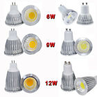 1 2 5pcs MR16 GU10 COB Dimmable 6W 9W 12W Spot down light LED lamp bulb bright