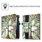 iPad 2/ 3/ 4 Leather Cover Case w/ Pencil Holder Multi-Angle Viewing Sleep/Wake