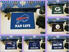 NFL Licensed Man Cave Starter Area Rug Floor Mat Carpet - Choose Your Team