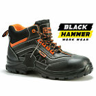 Mens Safety Boots Composite Toe Cap Kevlar Shoes Ankle Size Metal Free Leather