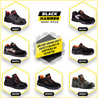 Mens Safety Trainers Shoes Boots Work Steel Toe Cap Hiker Ankle Size 5-13 UK New