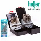 Professional HELLER HSS-CO COLBALT TWIST DRILL BIT SET Fast Drilling Metal Pack
