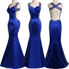 STOCK Long Formal Dresses Evening Masquerade Party Mermaid Prom Ball Gown Party